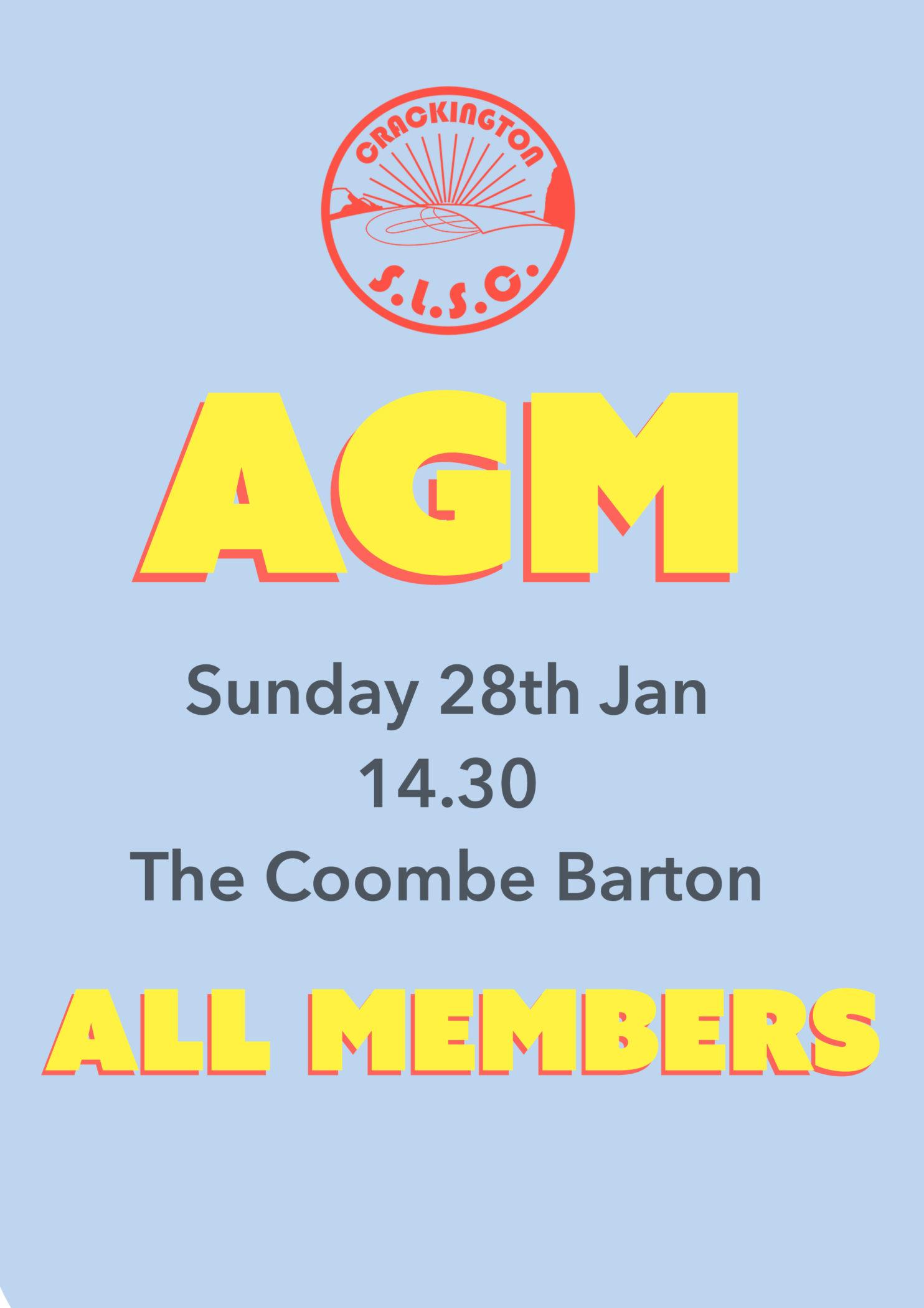 AGM 2018 crackington surf club
